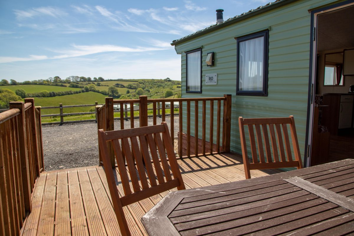 Static Caravans to Hire at The Oaks Holiday Park, Looe South Cornwall
