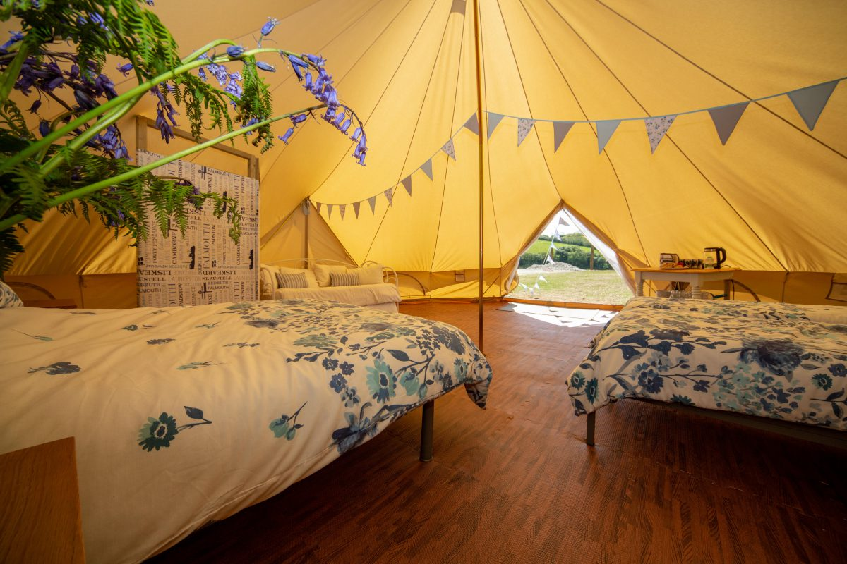 Bell Tents: The Oaks Holiday Park
