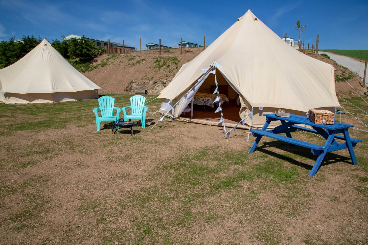 The Oaks Holiday Park: Glamping Bell Tents