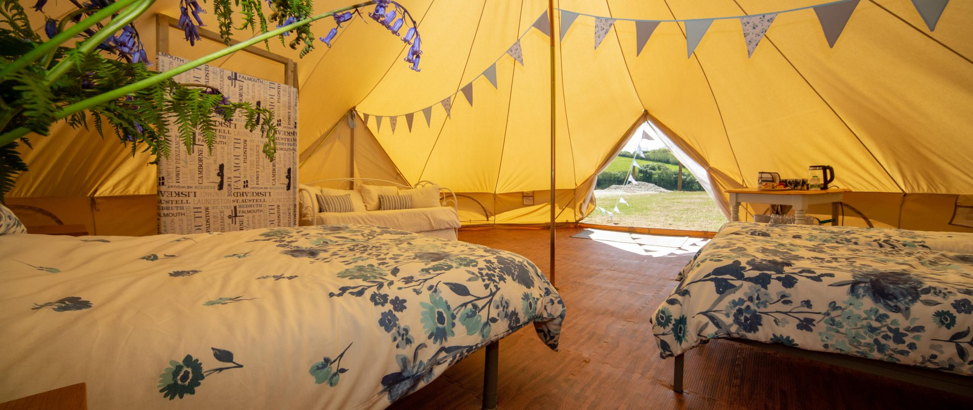 The Oaks Holiday Park: Glamping Interior