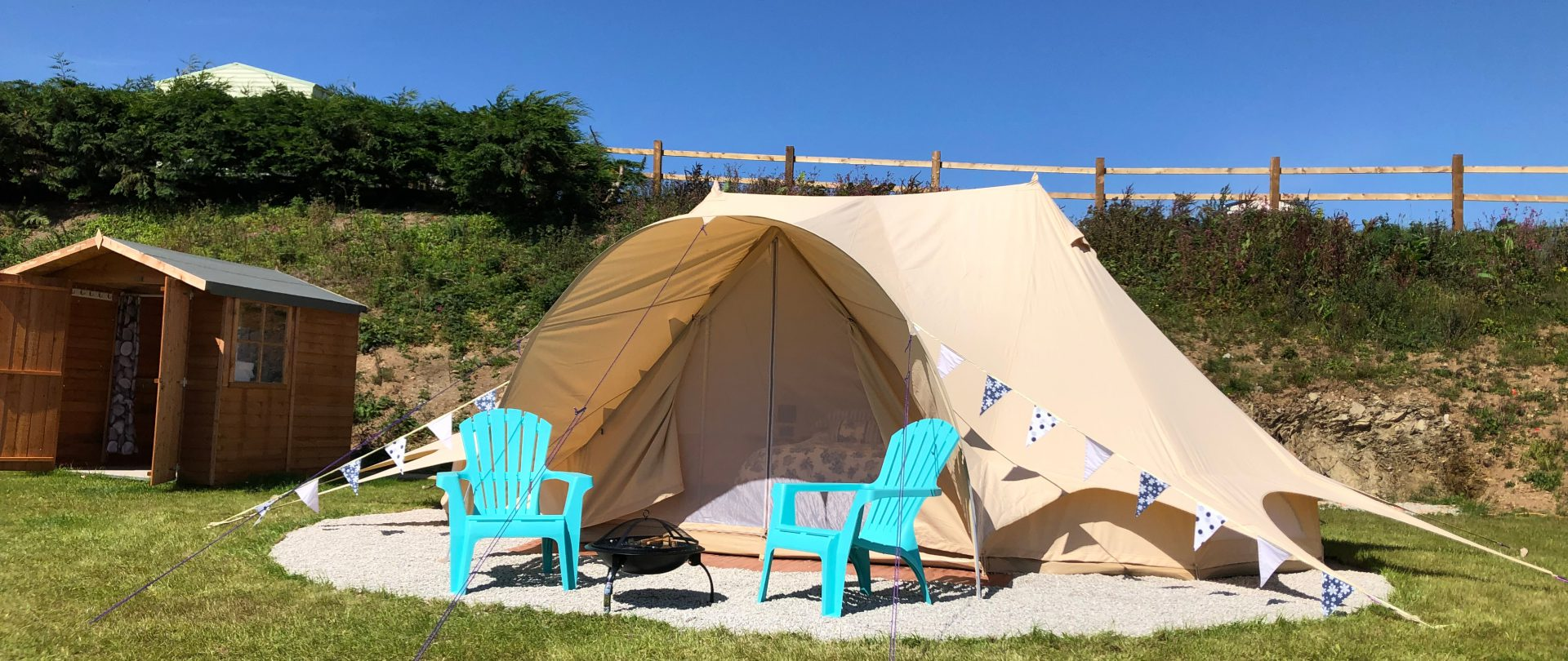Bell Tent Camping: The Oaks Holiday Park